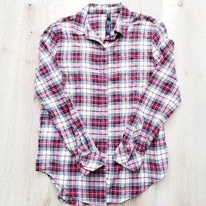 SEVEN7 Long Sleeve Button Down Flannel